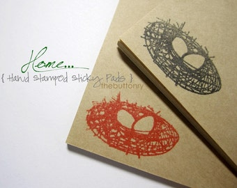 Home - Hand Stamped Sticky Pads