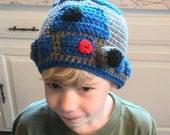 Star Wars R2D2 Hat Crochet Pattern