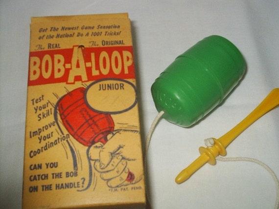 Bob-A-Loop The Real The Original Box 1958 Retro Game Toy