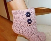 Instant download - Crochet PATTERN (pdf file) - Ladies Ankle Boots