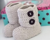 Crochet PATTERN  - Toddler Ankle Boots
