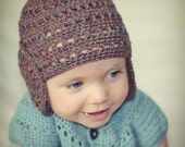 Instant download - Crochet PATTERN (pdf file) - Thinking of Autumn Hat (baby to adult)