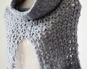 Instant download - Crochet PATTERN (pdf file) - Ladies Cowl - Poncho