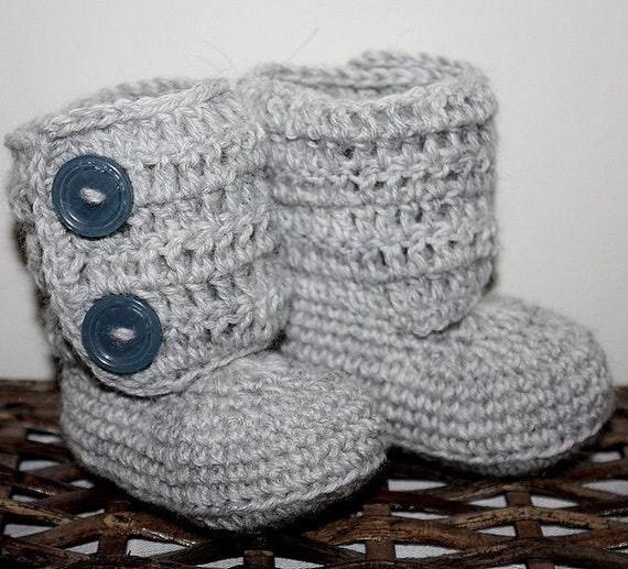 Crochet PATTERN (pdf file) - Baby Ankle Boots