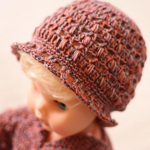 Crochet PATTERN  - Baby Bobble Beanie
