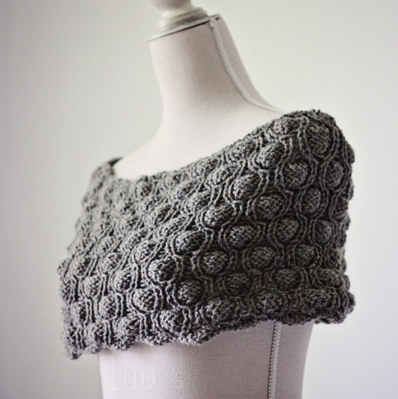 Instant download - Knitting PATTERN (pdf file) - Cocoon Snood