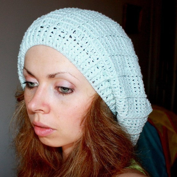 Pattern french beret with stripes for French striped shirt and beret
