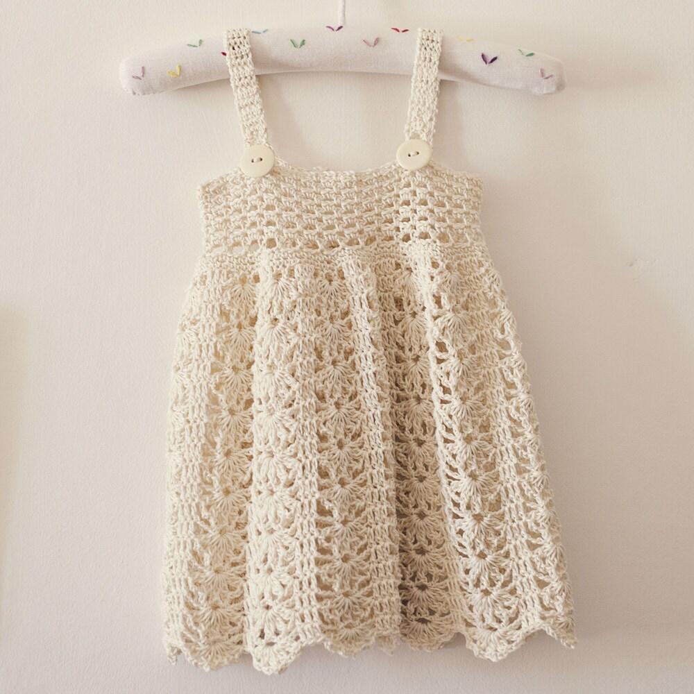 Baby Sun Dress Pattern To Crochet : Crochet dress PATTERN Sarafan Dress sizes up to 5 years