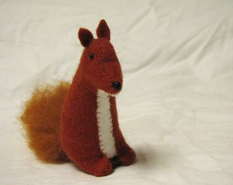 Red Fox Sewn Wool Felt - ships for FREE in the US