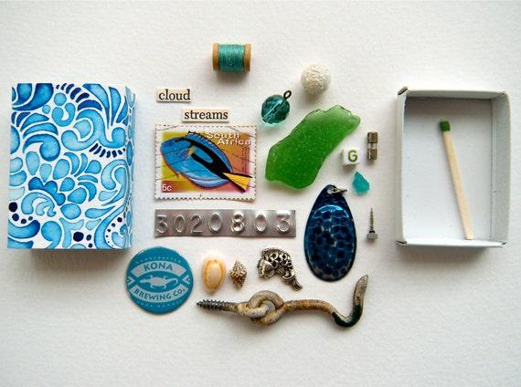ocean waves  - matchbox treasure
