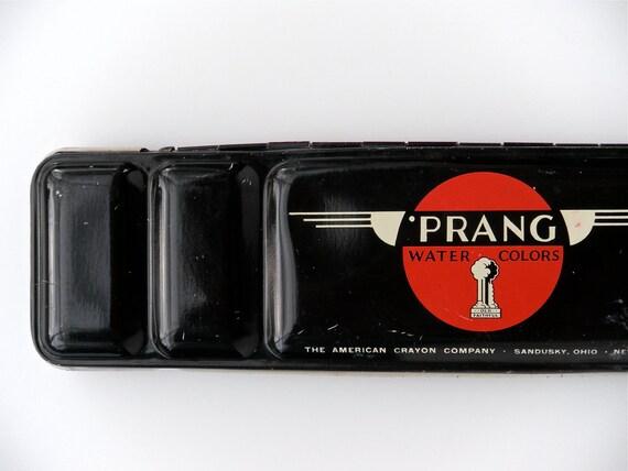 Prang Watercolors - vintage tin, watercolor paint box