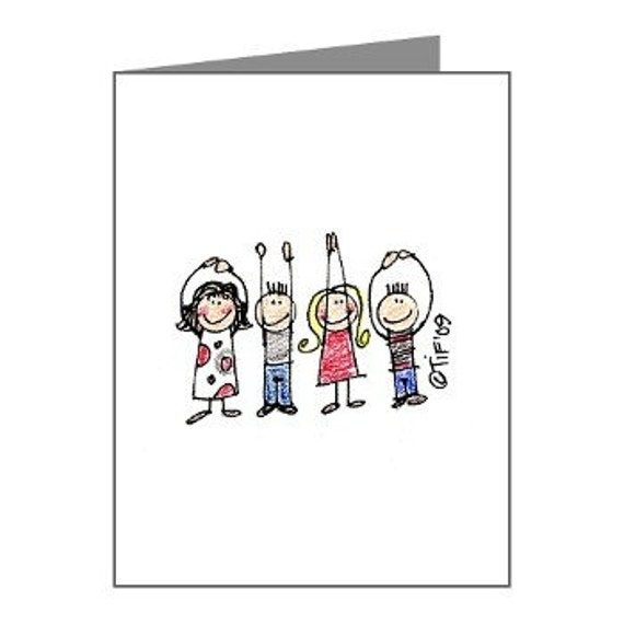 O-H-I-O Cuties OSU Buckeye Pride Cards - Set of 3 Note Cards - This is the very last set of these