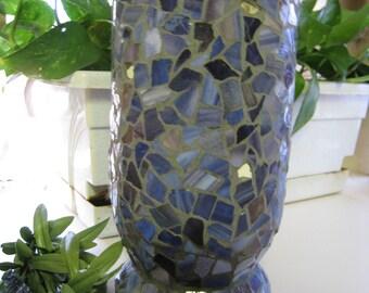 Mosaic Pastel Vase