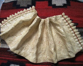 Ceramic Burlap Blanket
