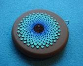 carribean sand pendant