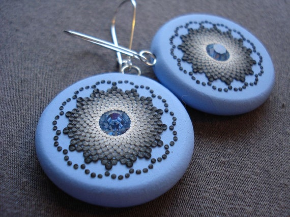 sky bloom earrings