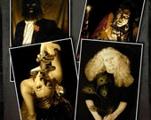 Cigar, Creeper and Dark Circus Sideshow 10 Piece Art Print Set - thestapeliacompany