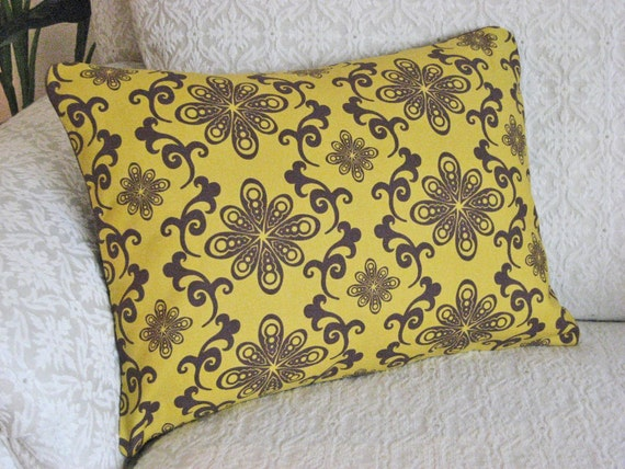 Mustard Throw Pillow Covers : Decorative Throw Pillow Cover Mustard Yellow by asmushomeinteriors