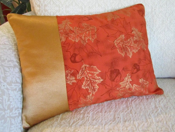 Autumn Throw Pillow Covers : Autumn Decorative Throw Pillow Cover Cushion by asmushomeinteriors