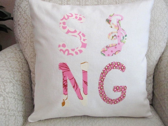 Ivory Decorative Throw Pillows : Decorative Throw Pillow Cover Ivory Pink by asmushomeinteriors