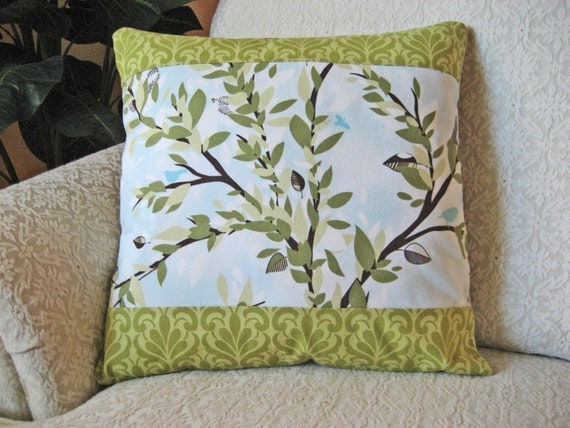Green 16 x 16 Throw Pillow Cover - Nature-ology