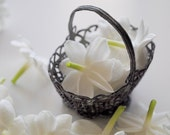 Cimbalom Solid Natural Perfume Sample, made with three botanical jasmine essences and patchouli - 2010 synergy.