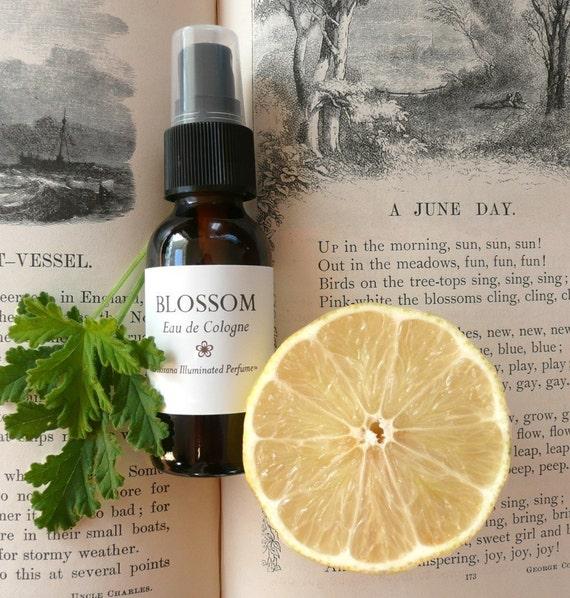 Blossom Eau de Cologne 1oz, Last of the 2011 Edition, Organic Orange Blossom and Jasmine Botanical Perfume Spray