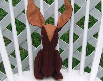 Rabbit Pattern PDF File by Kauai Kwilts