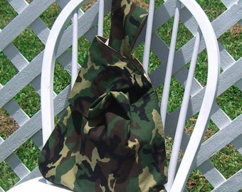 Reusable Lunch Bag Forest Camouflage Large