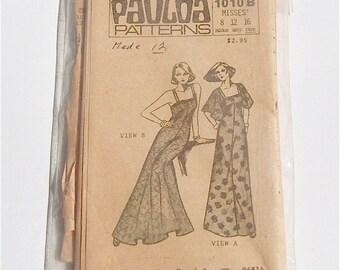 Semi Fitted Dress Pattern 1010B by Pualoa Uncut Multi Size Vintage
