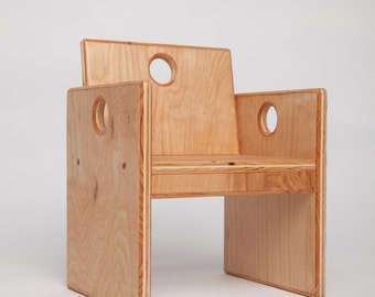 Toddler Size Wooden Chair