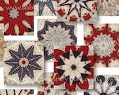 Scrabble Tiles .75 x .82 Inch - Pattern - Digital Collage Sheet 1048 - Printable Download