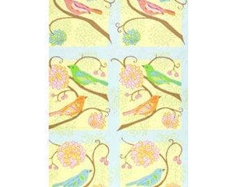 Sale Valori Wells Nest Fabric Panel in Summer for Free Spirit Fabrics