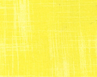 Laura Gunn Fabric Painters Canvas in Lemon 1/2 Yard