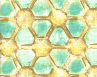 Laura Gunn Fabric Honeycomb 1/2 Yard from the Magnolia Lane Collection