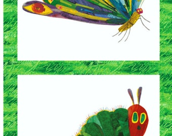 Eric Carle Fabric The Very Hungry Caterpillar Panel