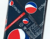 Passport Cover from Recycled Pepsi Bottle Wrappers