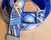 Belt with Recycled Blue Moon Beer Labels