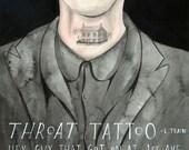 Throat Tattoo