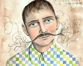 Unbelievable Moustache on the C