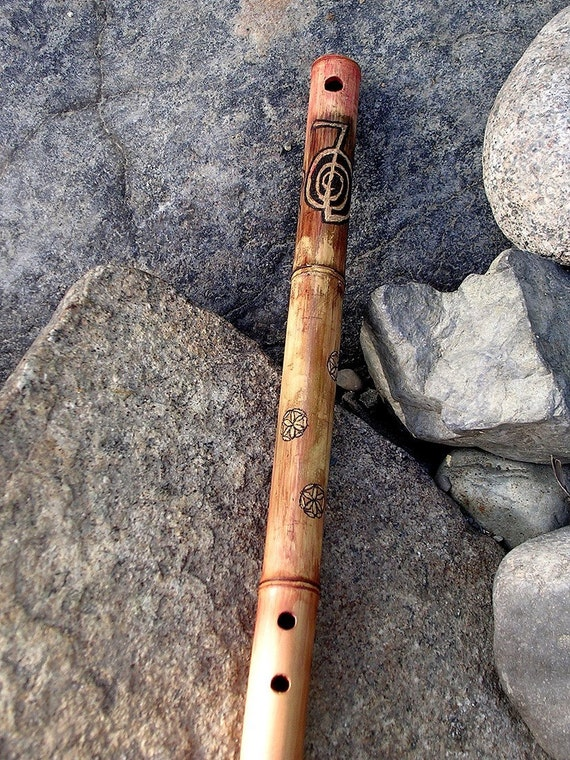 Reiki Symbol Flower of Life Egyptian Flute