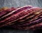 Handspun Wool Mohair Worsted Weight Yarn by KnoxFarmFiber