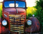 Traveling by GMC Truck  - 11x14 Art Photography Print