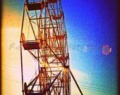 Sunset Carnival - 16x24 Etsy Original Photography Art Photography Print