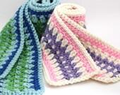 Instant Download - Crochet Pattern - Galilee Scarf