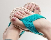 Crochet Pattern - Flip Flops (Child to Adult sizes 3-10)