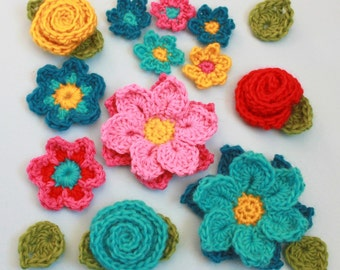Crochet Flower Patterns - Flower Shower