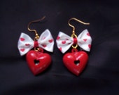SALE...VALENTINE EARRING PAIR