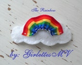 The Rainbow Barrette