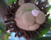 Leo the Lion Christmas Tree Ornament-Made to order